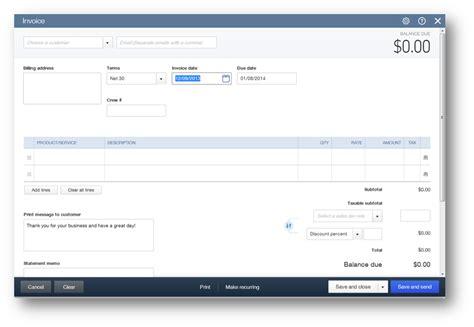 quickbooks  invoicing amazing invoice  improved