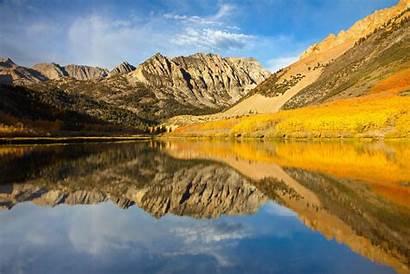 Sierra Nevada Mountains Eastern California Lake North