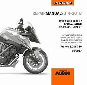 Ktm 1290 Super Duke R Service Repair Manual 2014