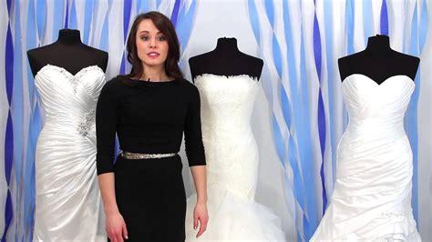 mermaid trumpet  fit  flare wedding dress