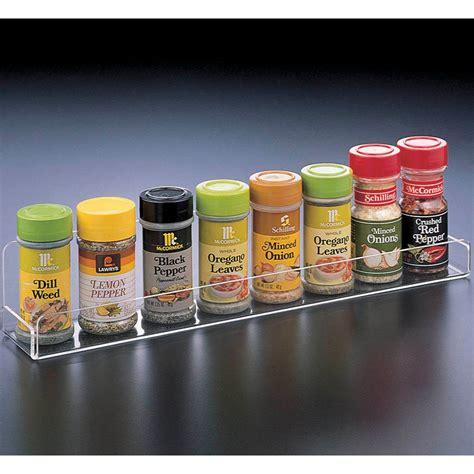 acrylic spice rack  spice racks