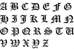 Free Printable Fancy Letter Stencils