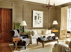 Traditional Living Room by Suzanne Kasler Interiors