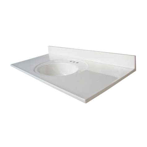 Glacier Bay Bath Vanity Tops by
