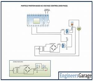 Ac Voltage Control Over Internet