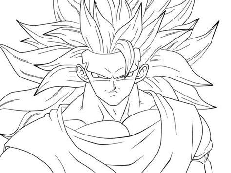 Goku Ssj3 Coloring Pages - Meningrey