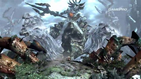 God Of War Iii New Gameplay Kratos Vs Poseidon Holy