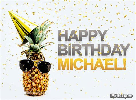 happy birthday michael memes wishes  quotes