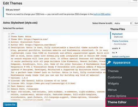 How To Disable Theme And Plugin Editors From Wordpress