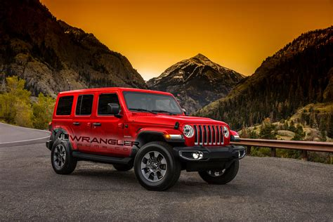 red jeep wrangler unlimited 2018 jeep wrangler arrives soon what we know in wheel