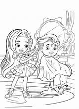 Hairdorables Beauty Coloring Pages Salon Doll все из категории раскраски Mystery sketch template