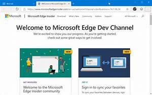 Download Microsoft Edge Latest Version For Windows 10