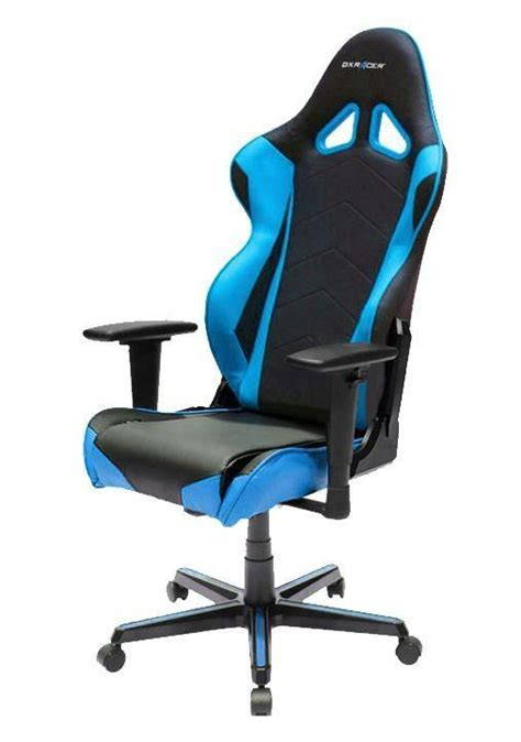 dxr gaming chair blue buy dxracer racing series gaming chair black blue