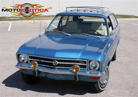 Opel Ascona For Sale by Budget Buy Low Mile 1971 Opel Ascona A 1900 Wagon German