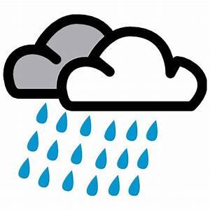 RAIN AND THUNDERSTORM VECTOR SYMBOL - Download at Vectorportal