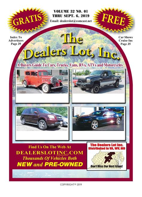 The Dealers Lot by The Dealers Lot Inc - Issuu