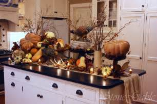 kitchen island centerpieces ash tree cottage need some thanksgiving tablescape ideas