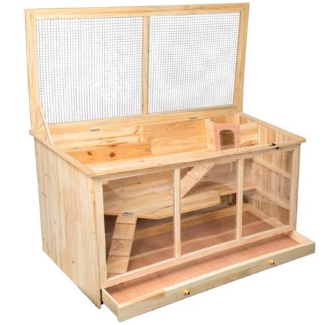 clapier cage lapin achat vente clapier cage lapin pas cher cdiscount