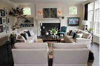 family room furniture 15 Amazing Furniture Layout Ideas to Arrange Your Family ...
