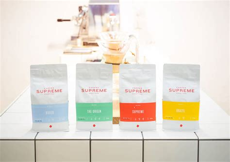 coffee supreme coffee supreme the dieline branding packaging design