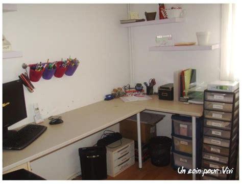 plan de travail bureau sur mesure mon espace à moi un coin pour vivi l 39 organisation facile