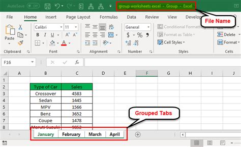 excel worksheets ungroup sheets worksheet filter multiple working edit want grouped examples individual example