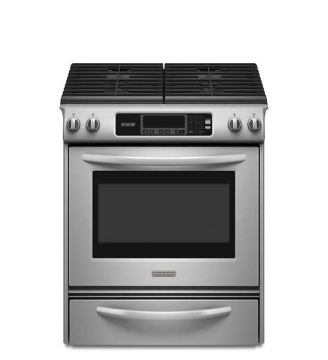 Kitchen Aid Gas Range by 30 Inch 4 Burner Gas Slide In Range Architect 174 Series Ii