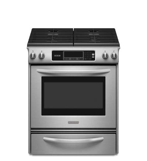 Kitchen Aid Gas Range 30 inch 4 burner gas slide in range architect 174 series ii