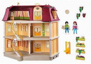 playmobil 5302 maison de ville achat vente univers With modele plan de maison 3 notice de montage playmobil 5303 maison traditionnelle