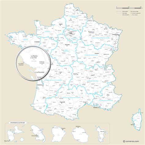 Nouvelle Carte De Region Et Departement by Carte Nouvelles R 233 Gions Et D 233 Partements De