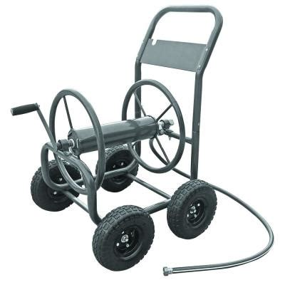 liberty garden 4 wheel hose cart 840 the home depot