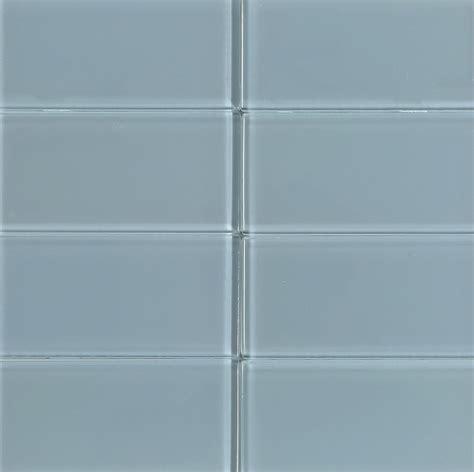 10 45sf glass subway 3 quot x 6 quot sky blue tile 8mm