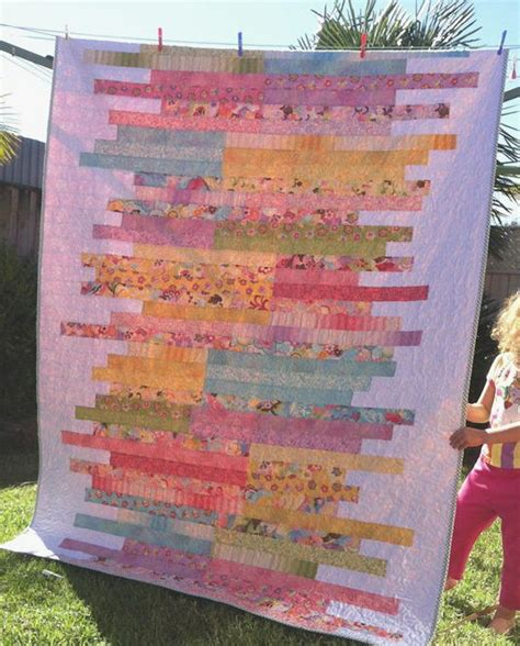jelly roll quilt patterns sugar almonds jelly roll quilt pattern favequilts