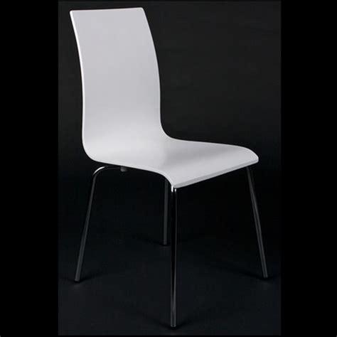 chaises cuisine blanches chaises de salon ou de cuisine blanche lot de 4 achat