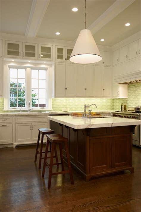 mahogany kitchen island contemporary kitchen