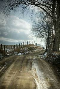 Country road in Preston County, West Virginia by Grayspace ...