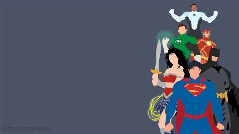Justice League Animated Wallpaper - justice league minimalist hd superheroes 4k wallpapers