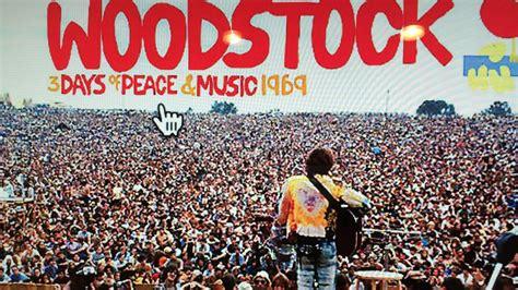 musica torna ad agosto  levento storico woodstock