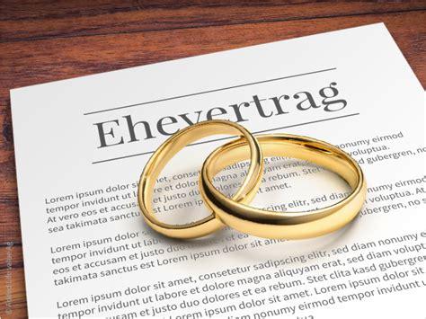 Ehe Scheidung Und Ehevertrag Bei Wohneigentuemern by Ehevertrag Oder Nacheheliche Vereinbarung Ehe De