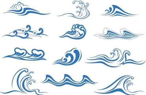 Ocean Wave Silhouette Free Vector Download (8,935 Free