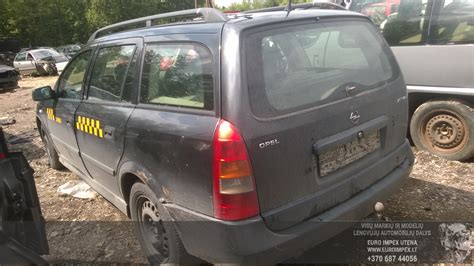 Opel Astra 1998 2.0 Mechaninė 4/5 D. 2015-7-14 A2301 Used