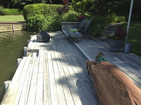 trex composite decking boat dock upgrade cary deck nc