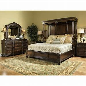 Chateau marmont fairmont 7 piece cal king bedroom set for California king bedroom sets