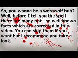 Real Werewolf Spell That Works