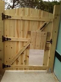 how to build a wooden gate To Build A Wooden Gate For Fence Gate