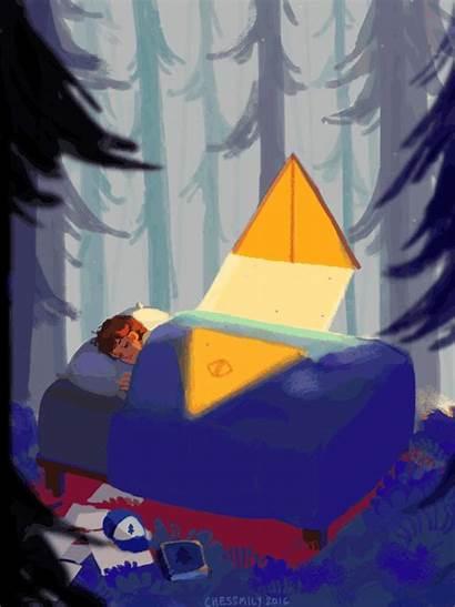 Gravity Falls Dream Dipper Kid Bill Pokemon