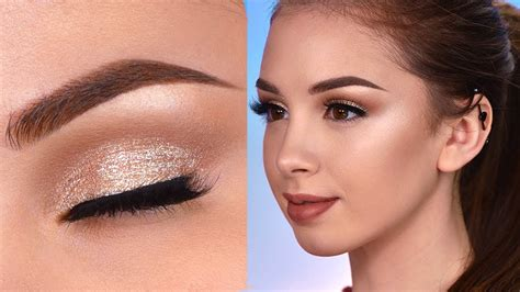 drugstore prom makeup tutorial natural easy prom