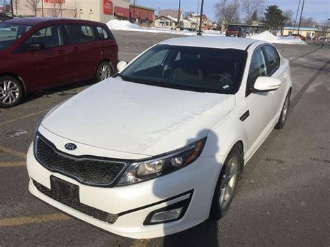 Kia Optima 2015 Lx by 2015 Kia Optima Lx White For 14990 In Ottawa