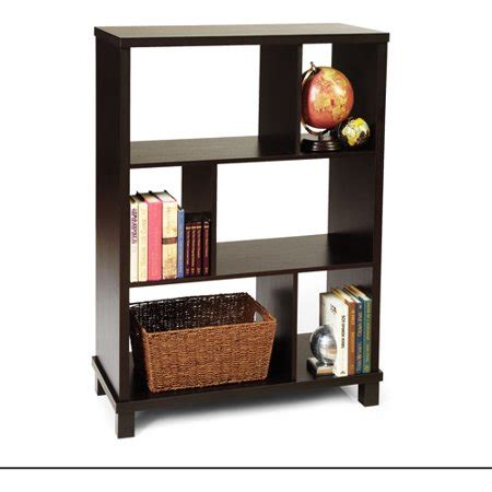 walmart 3 shelf bookcase convenience concepts northfield 3 shelf bookcase espresso