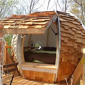 Cabane De Luxe : cabane de la colline de bouti s tarn et garonne ~ Zukunftsfamilie.com Idées de Décoration